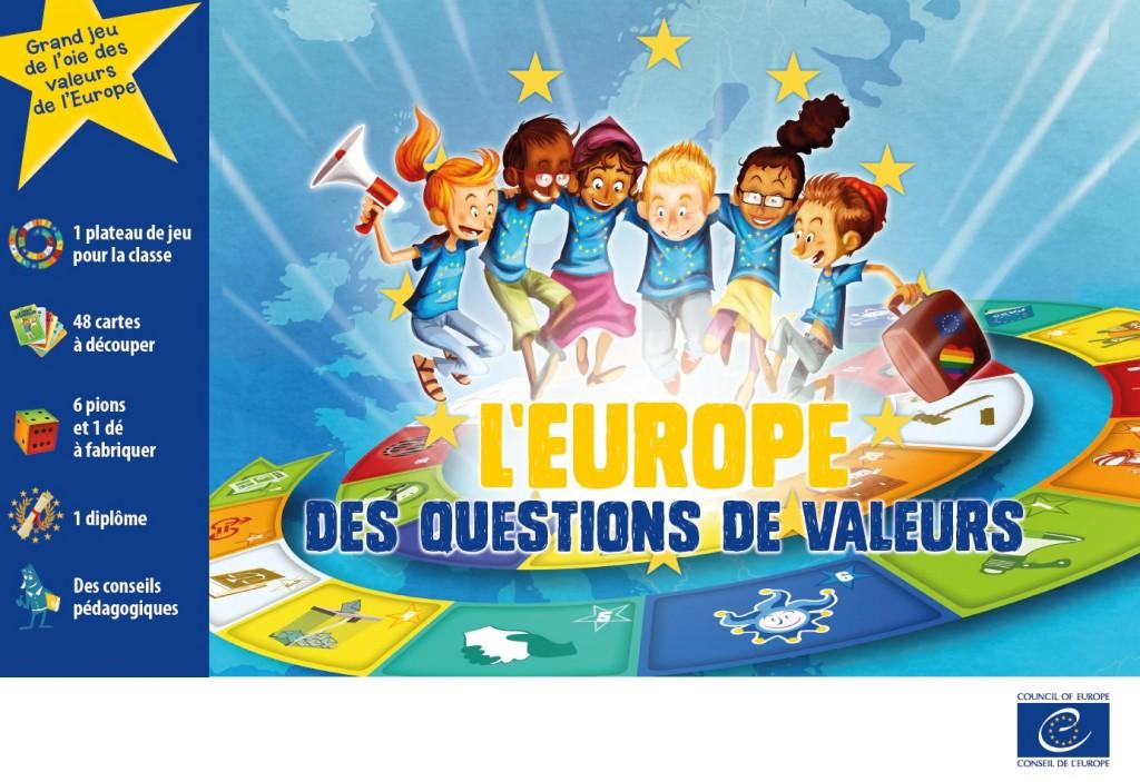 Carte De Leurope Jeux Educatifs.Un Grand Jeu Educatif Sur Les Valeurs De L Europe Cied Auch Gascogne